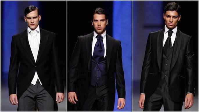 Tres propuestas de Miquel Suay para novios de 2013. Foto: Ifema