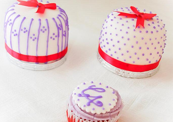 Los originales pastelitos de Valle Dulce son una gran idea como recuerdo de boda.