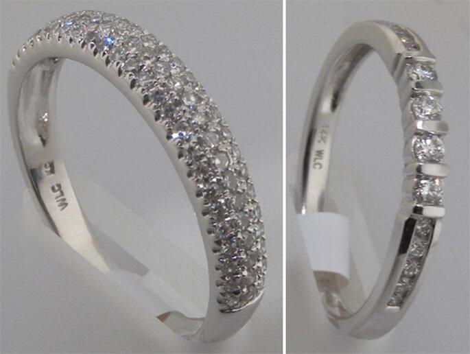 Churumbelas con diamantes incrustados - Foto: Varré Joyeros