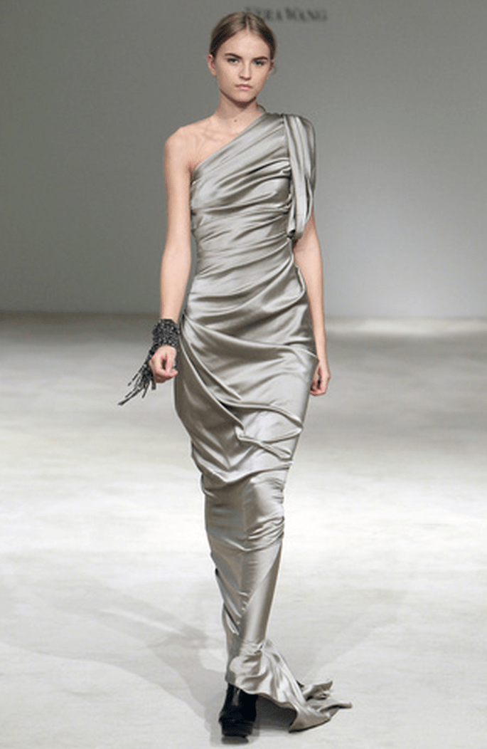 Robe de mariée longue Vera Wang 2012