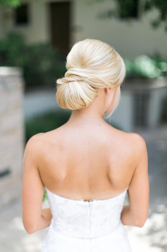 penteado noiva preso