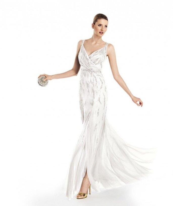 """Свадебные платья коллекции """"City"""" от Pronovias"""