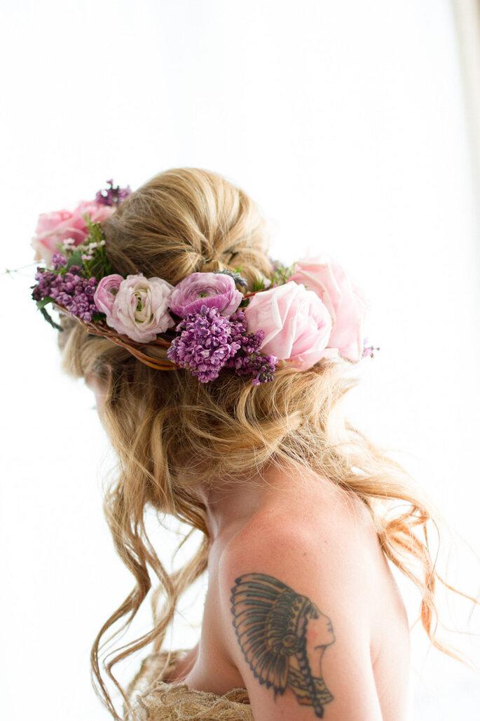 8 tendencias en belleza para novias que serán extraordinarias este 2015 - Elizabeth McDonnell Photography