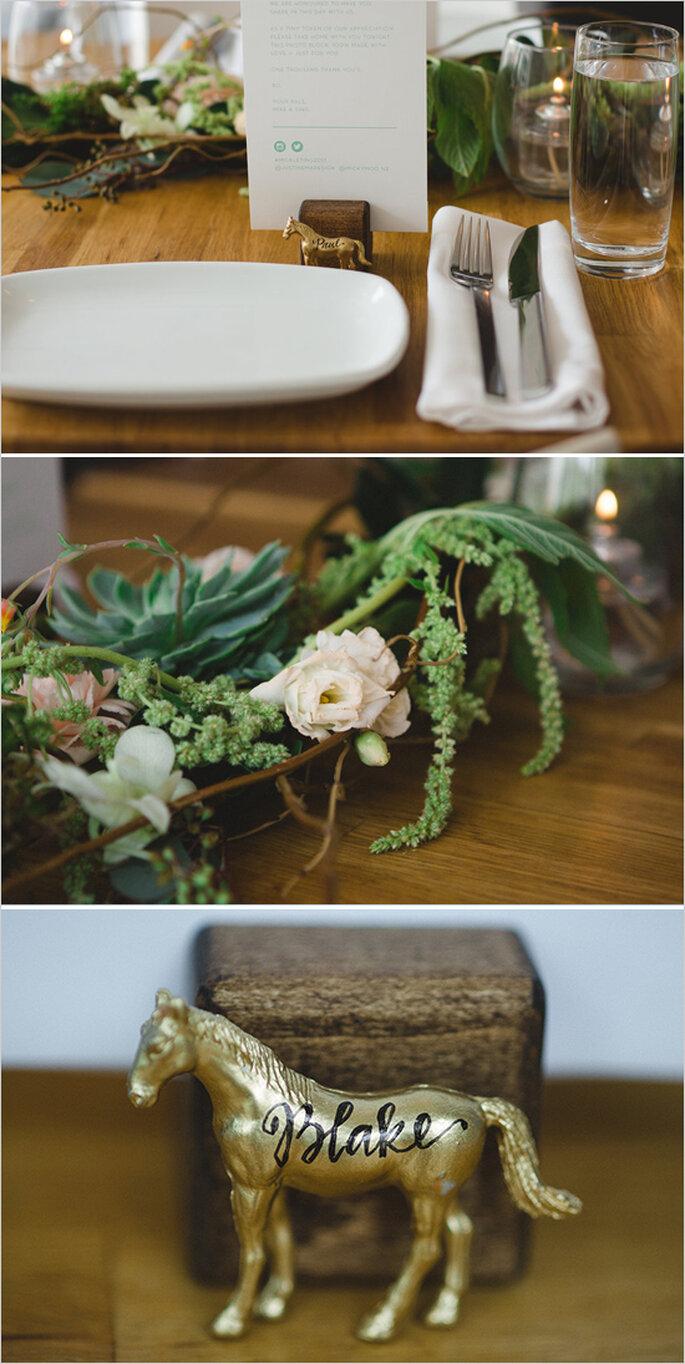 Tu boda con acabados decorativos en caoba - Foto Blake Loates