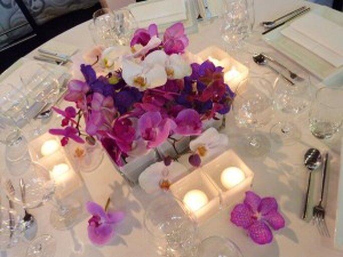 Trau dich! Tischdekoration Orchideen