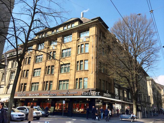 Foto: Meister Zürich an der Bahnhofstrasse