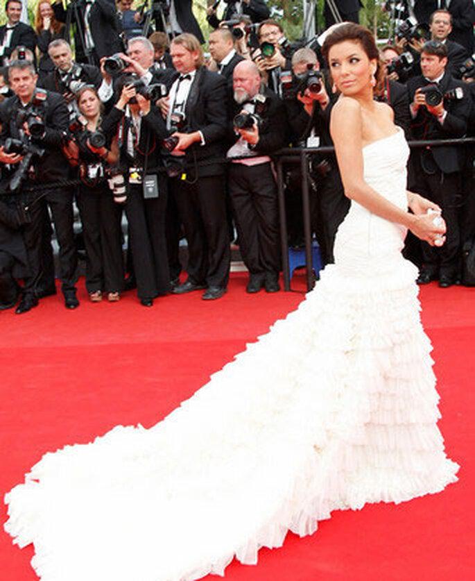 Eva Longoria en Emilio Pucci - Cannes 2010