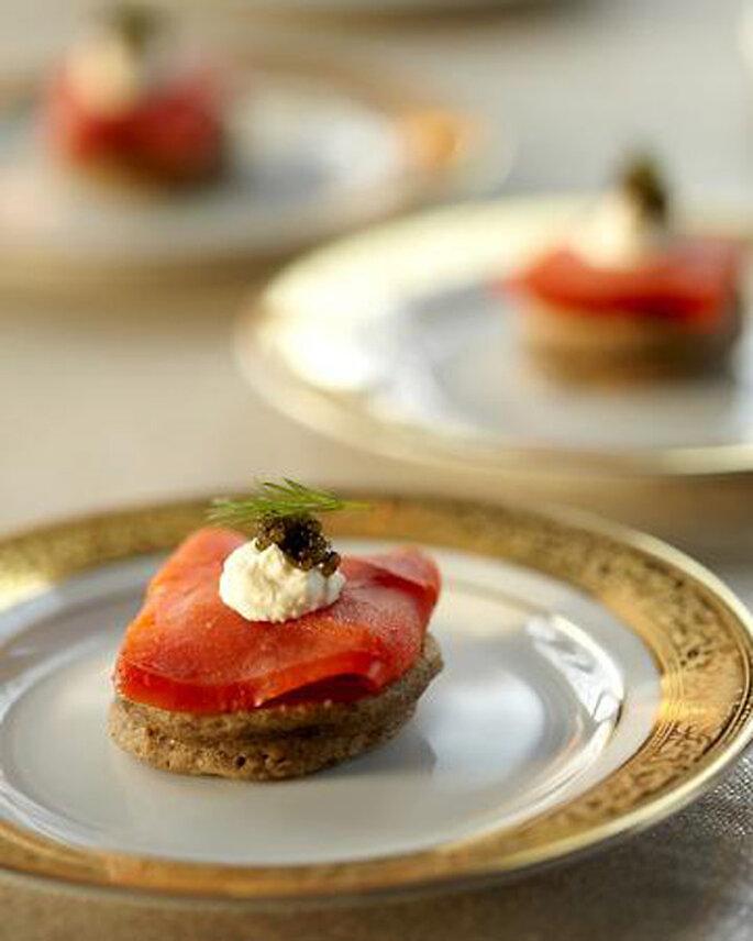 Finger Food, das trendige Hochzeitscatering – Foto: Annabel Braithwaite and Dorothee Brand of Belathee Photography