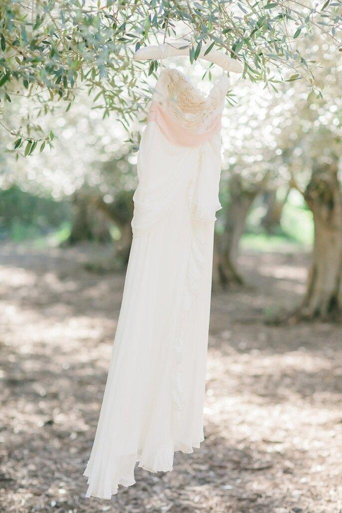 Acentos en color rosa para una boda perfecta - Foto Avec L'Amour Photography