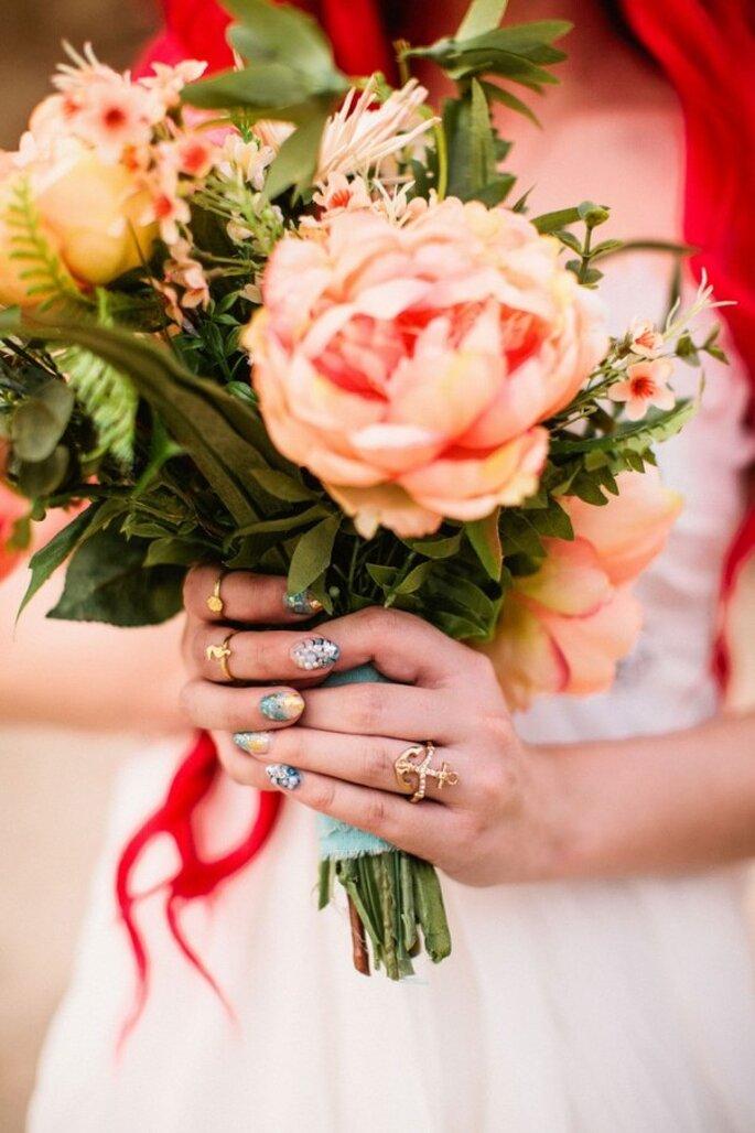 Una boda Wow inspirada en La Sirenita - Foto: Mark Brooke Photography & Mathieu Photo