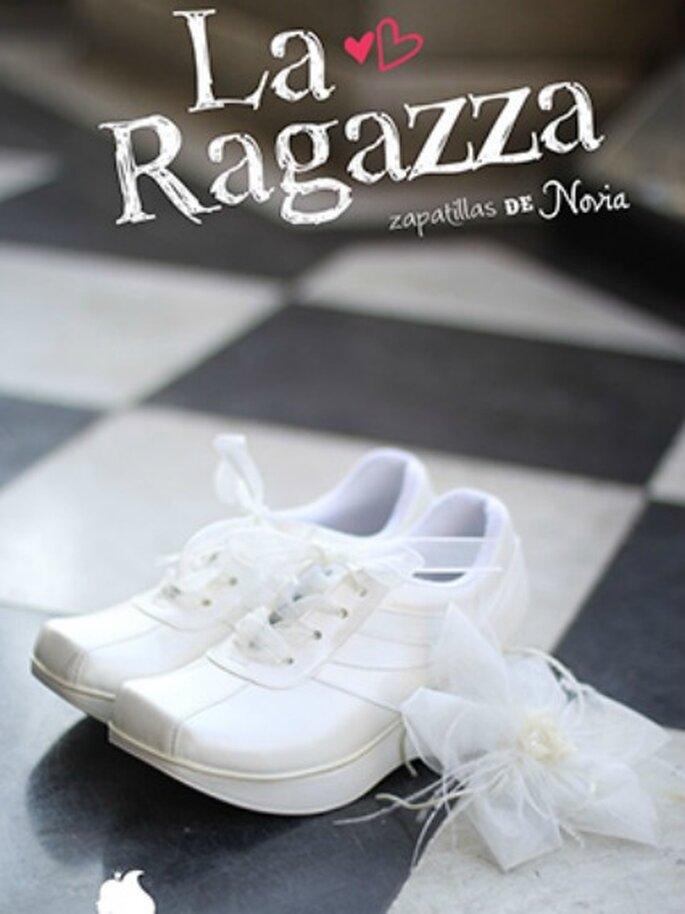 Deportivas para novias- Foto: La Ragazza