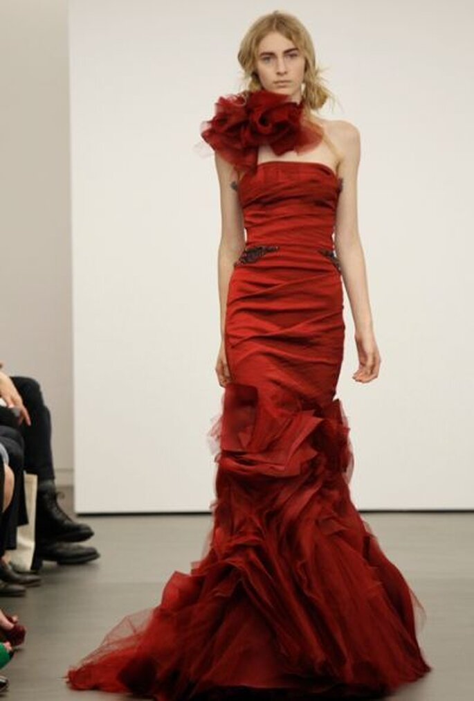 vera wang blouit avec ses robes de mari e 2013 rouges