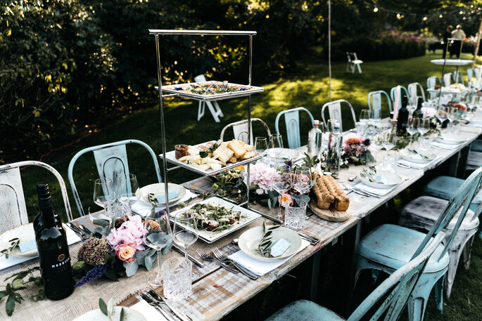 Homemade Catering + Trouwen in Eigen Tuin. Foto: Wianda Bongen Photography