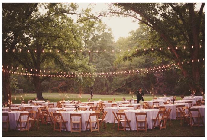 Tendencias en iluminación para bodas 2014 - Foto The Reason