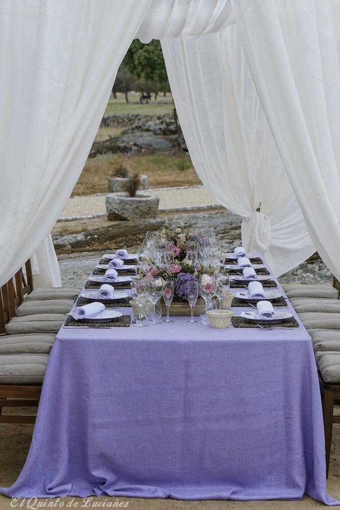 Cómo elegir los manteles para mi boda en 5 pasos