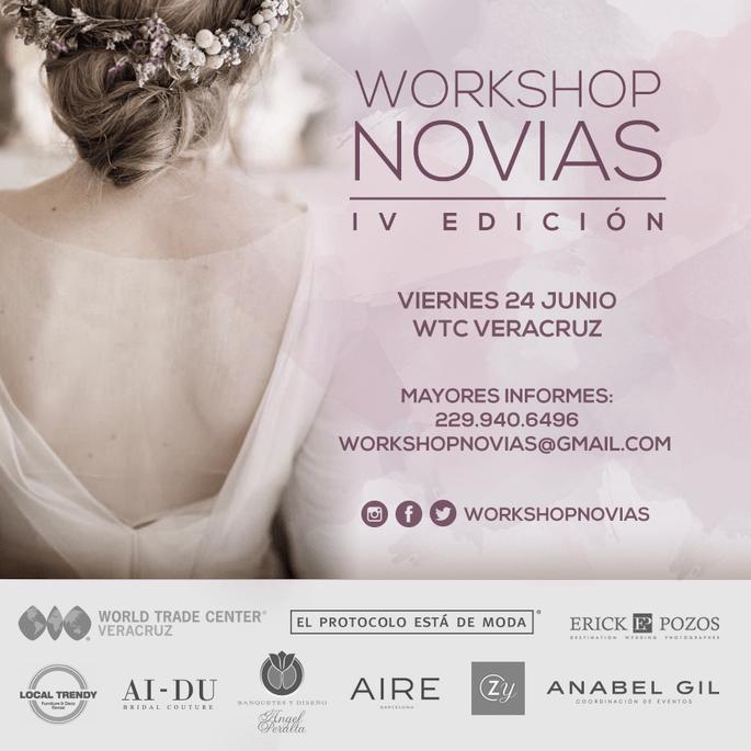 ¡Llega la 4ª edición del Workshop Novias!
