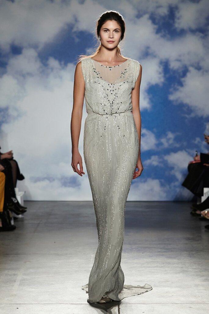 Los vestidos de novia están inspirado en las diosas de la mitología y el glamour de la década de 1930. Jenny Packham - Primavera 2015