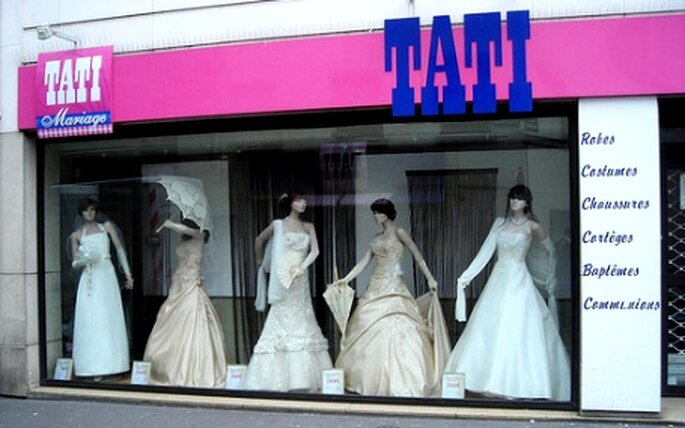 Collection de robes de mariée Tati Mariage 2010