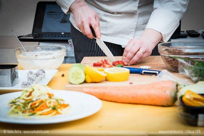 Laboratorio di Cucina illustrata con Danilo Paparelli e Federica Giuliani