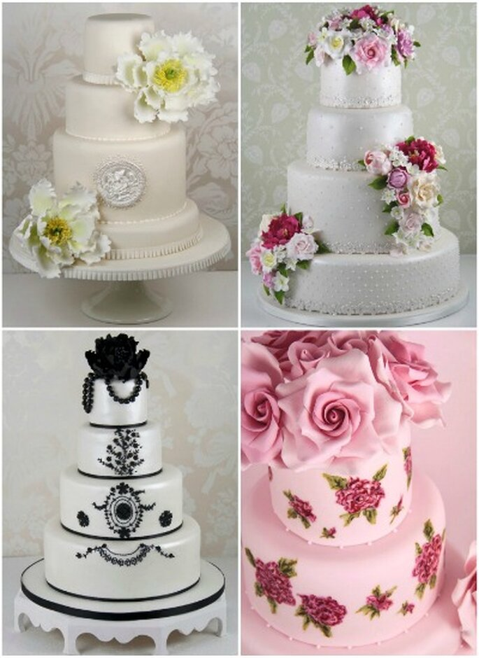 Hochzeitstorten. Foto: Cakes Haute Couture