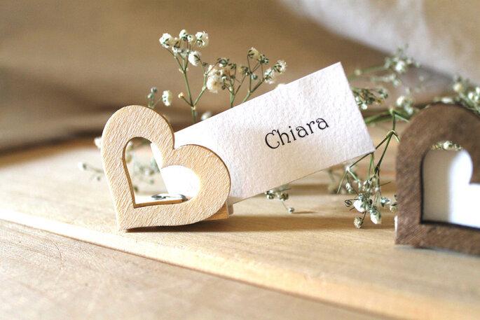 segnaposto matrimonio