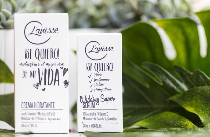 Súper serum y crema hidratante 'Wedding', de Lanisse