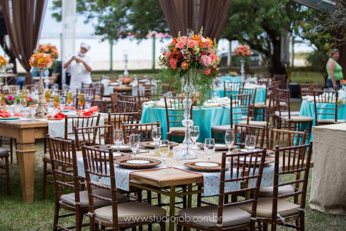 Espaço para casamento ao ar livre