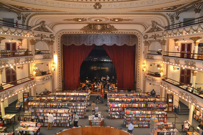 Livraria El Ateneo - Foto Aguiar Buenos Aires