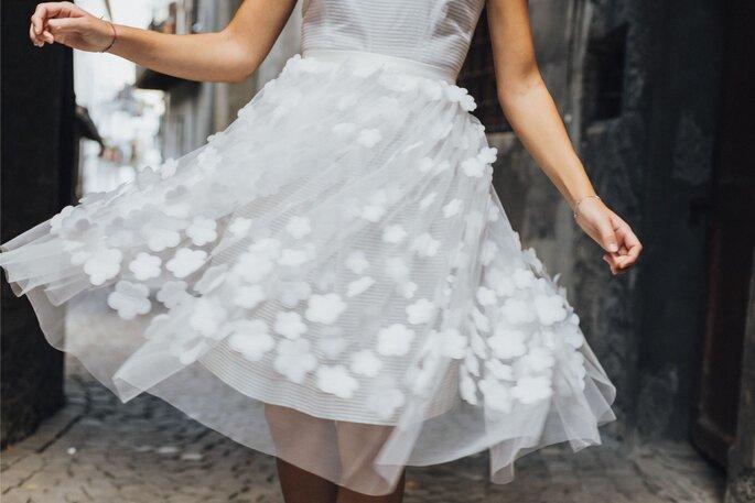 Das Brautkleid von Lovebird Fashion.