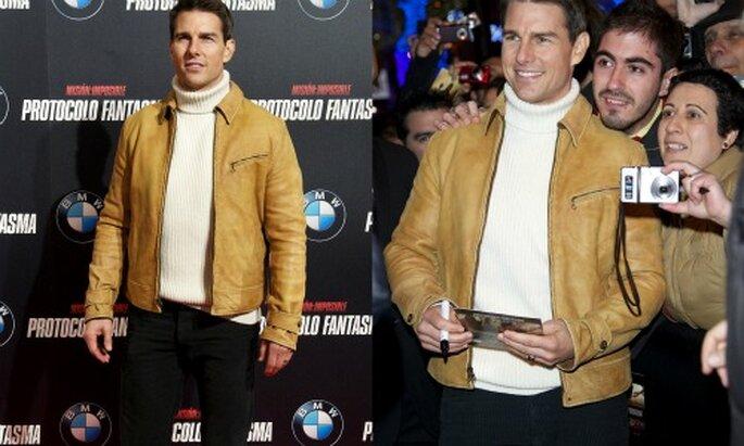 Tom Cruise en la Premier de Misisón Imposible4. Foto: Paramount Pictures