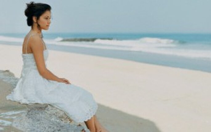 Vestidos boda playa mexico