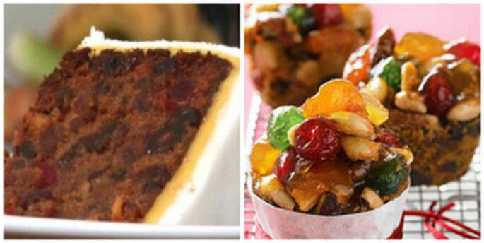 ¿Imaginan una deliciosa torta de frutas?