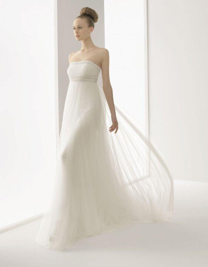 Vestido de novia Hussel, Rosa Clará