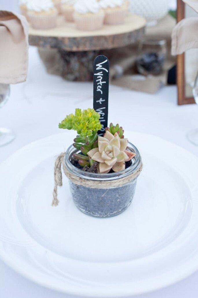 Umweltfreundliche Hochzeitsdekoration: einfach und zauberhaft! - Foto Megan Walker Photography