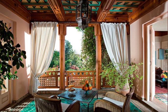 Lune de miel à Marrakech à l'hôtel Dar Rhizlane