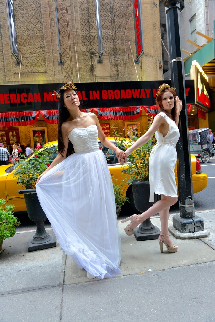 Modèles Jasmine et Juliette (Photo: Jean Nguyen)