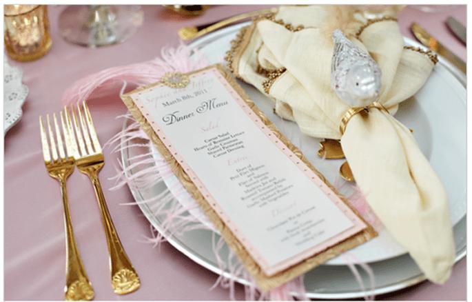 Décoration de mariage inspirée par Marie Antoinette - Photo Tab McCausland