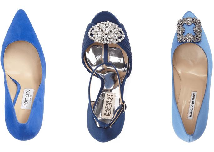Scarpe Sposa Blu.Scarpe Da Sposa Blu Un Colore Frizzante Per Il Tuo Outfit Nuziale