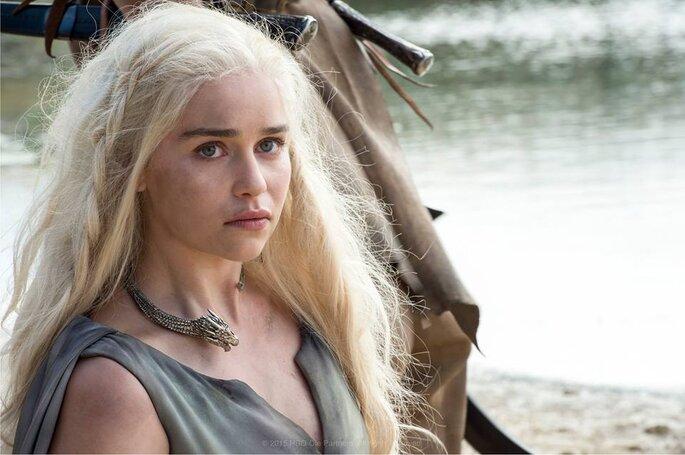 Daenerys et Drogo - Game of Thrones Fcebook officiel