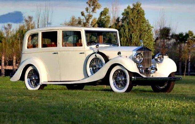Carros clásicos buena opción para el día de la boda