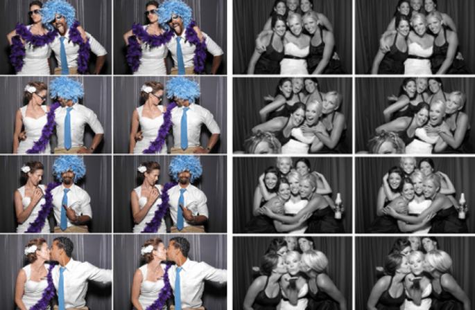 Disfruta de la cabina de fotos en tu boda - Foto PhotoBooth Pro