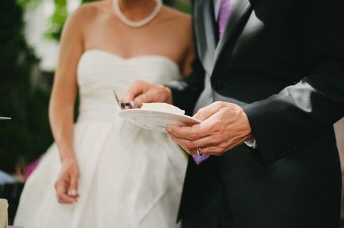 Tips para elegir el mejor pastel de bodas - Foto Alexandra Roberts