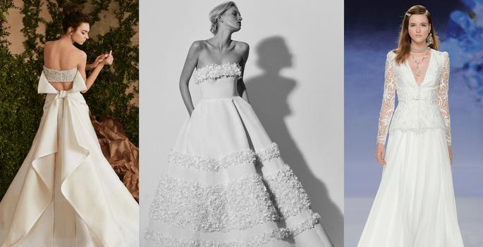 Telas para vestidos de novia