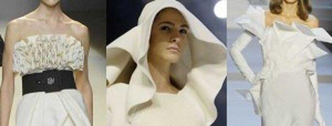 Vestidos de novia 2011 Origami