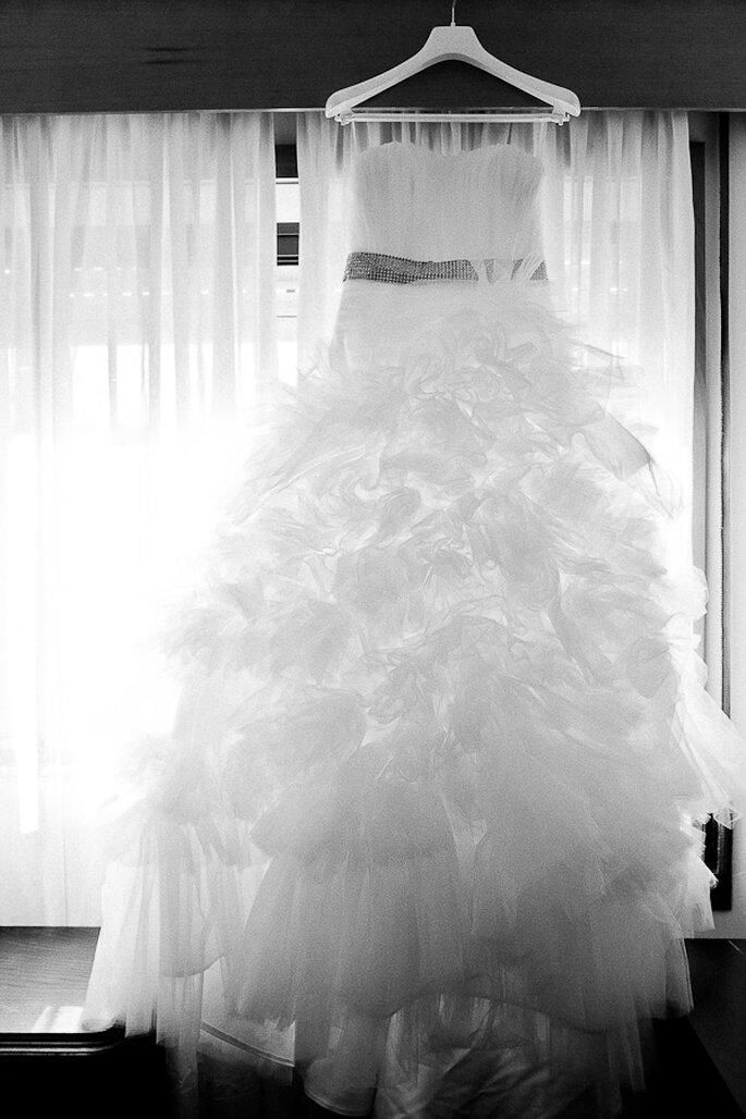 O vestido de noiva - Estúdio Fotografia NN