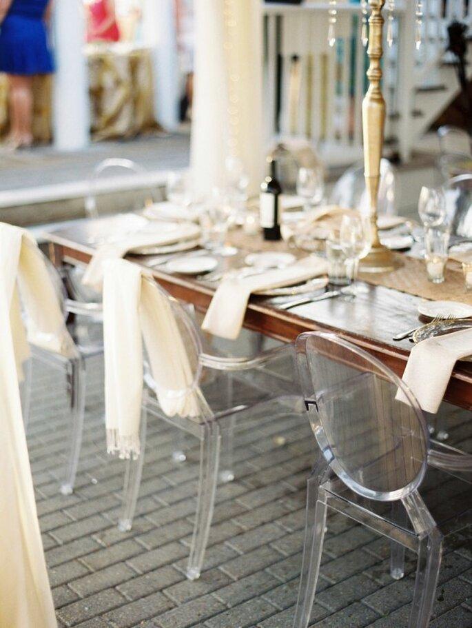 Mobiliario con diseños súper originales para decorar una boda - Foto Lauren Kinsey Fine Art Wedding Photography