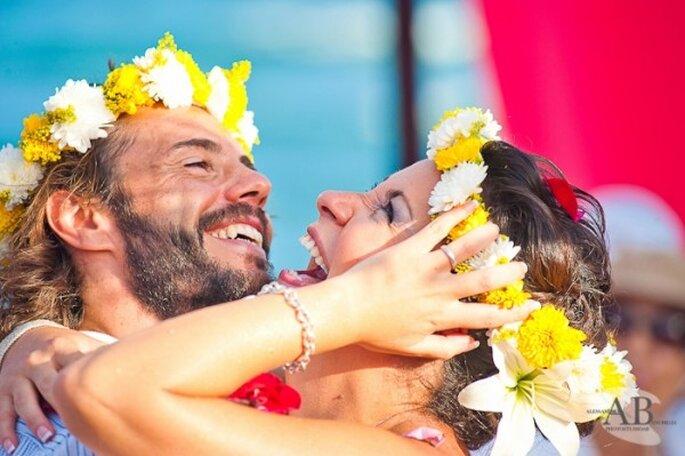 Las coronas de flores serán complementos perfectos para transmitir tu amor por la naturaleza - Foto Photostudio AB