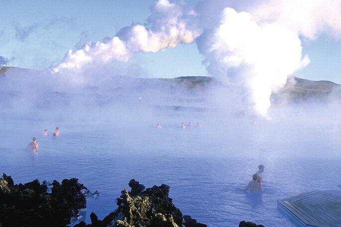 A Lagoa Azul - Islândia
