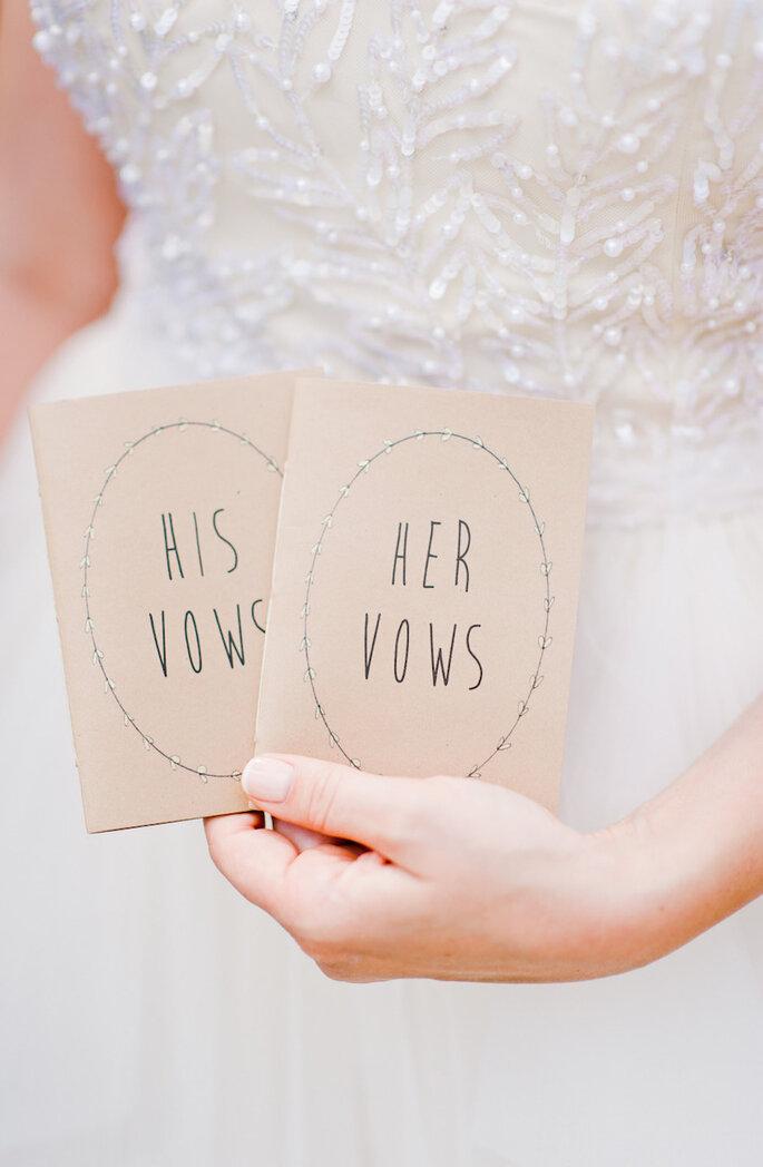 Haz votos personalizados en tu boda - Nadia Meli