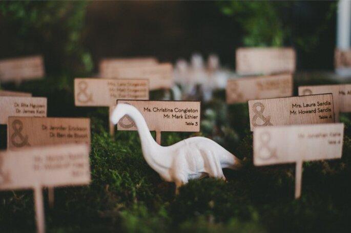 Marcasitios con dinosaurios. Foto: Alexandra Roberts